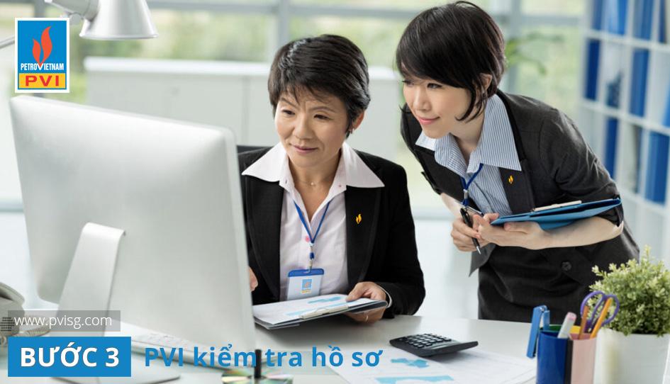 Quy trình bồi thường PVI